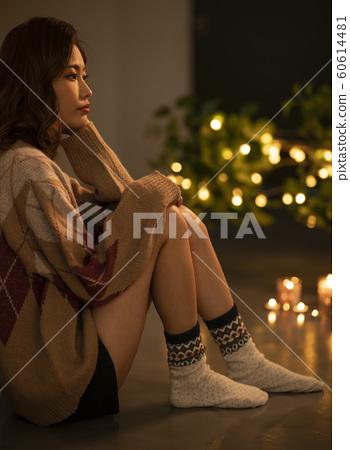 여성 라이프 스타일 겨울 60614481