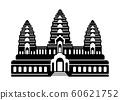 Cambodia / Angkor Wat | World Famous Buildings (Ruins, Buildings, World Heritage, Landmark) 60621752
