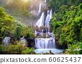 Thi Lo Su (Tee Lor Su) in Tak province. Thi Lo Su waterfall the largest waterfall in Thailand. 60625437