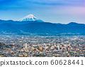 Kofu, Japan skyline with Mt. Fuji 60628441