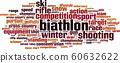 Biathlon word cloud 60632622