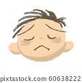 男孩,脸,悲伤 60638222