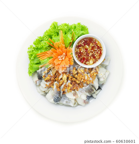 Steamed Pangasius Fish Blanching 60638601