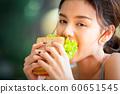 여성 라이프 스타일 식사 60651545