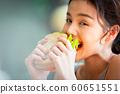 여성 라이프 스타일 식사 60651551