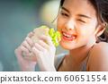 여성 라이프 스타일 식사 60651554
