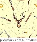 Hunting seamless pattern 60665849