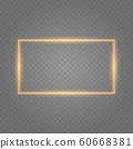 Frame with lights effects. 60668381