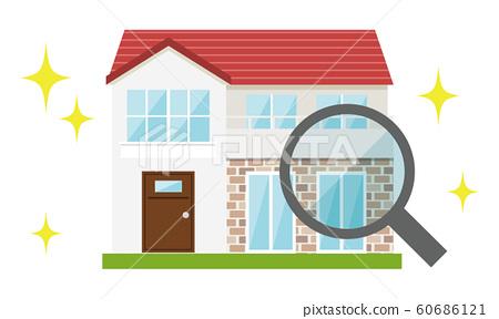 주택 사정 판매 돋보기 가옥 조사 60686121