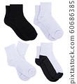 sock isolated on white background 60686385
