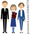 畢業典禮家庭學生 60688770