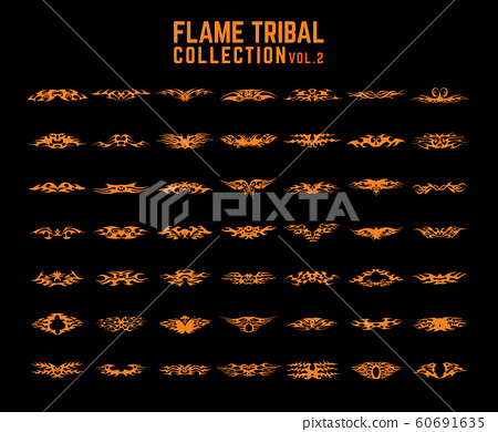 Tribal Flames collection set 60691635