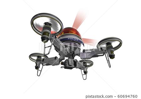 警用無人機(配備攝像頭的類型:透明材質版本) 60694760