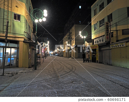 Otaru Yanagawa Street at night 60698171