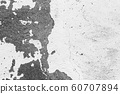 Texture of a concrete wall with cracks and scratches  60707894