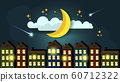 Good Night Illustration. Suitable For Greeting 60712322