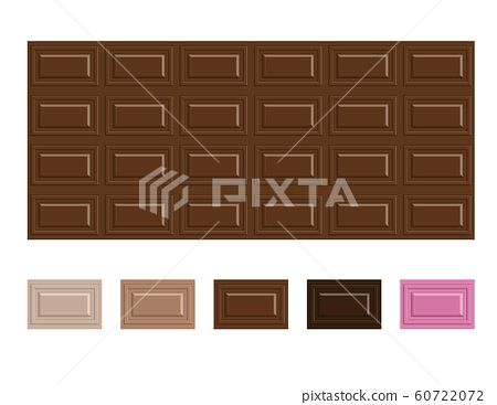 Chocolate, valentine's day, chocolate bar, illustration 60722072