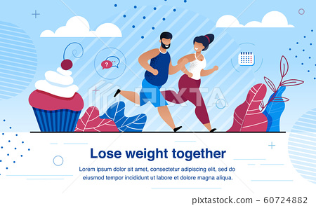 Family Healthy and Active Lifestyle Vector Banner 60724882
