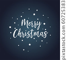 We wish You a Merry Christmas - vector calligraphy 60725383