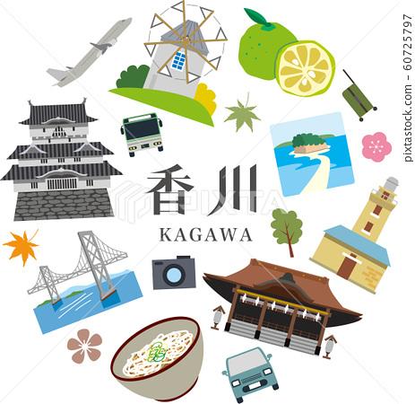 Kagawa Prefecture Tourism Travel Spot 60725797