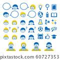 Learning illustration set 60727353