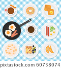vector set of breakfast food 60738074