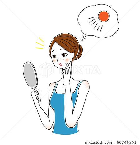 여성 스킨 케어 자외선 UV 60746501