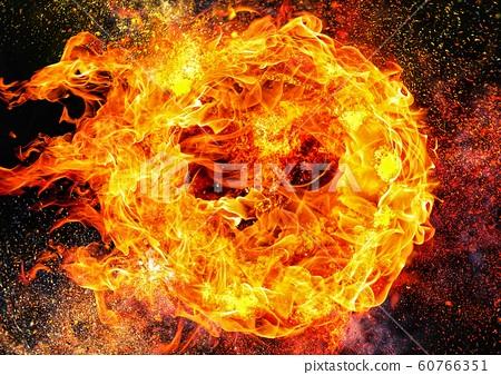 抽象火焰特寫 60766351