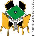 麻将桌 60772601