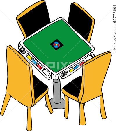 麻將桌 60772601