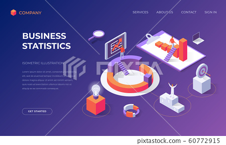Landing page for business statistics 60772915