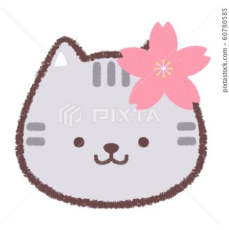 Icon cherry cat 60780585