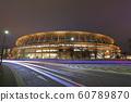 새로운 국립 경기장 야경 2019 년 12 월 21 일 60789870