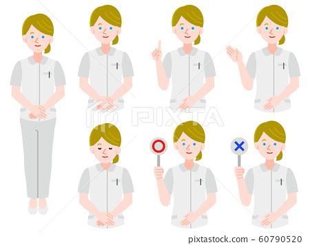 護士制服白人婦女圖無套 60790520