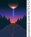 Alien Abduction Vector Art 60791757