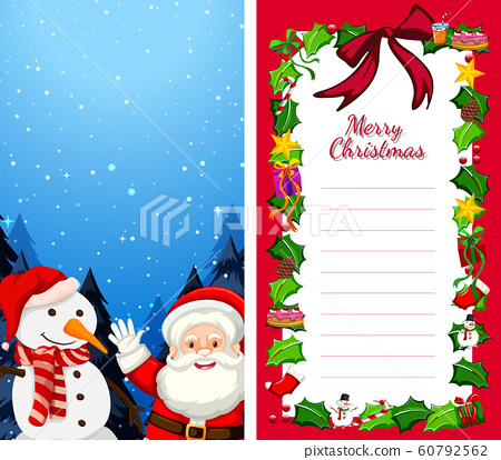 Background templates with christmas theme 60792562