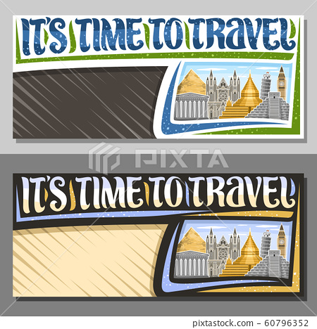 Vector layouts for Travel Agency 60796352
