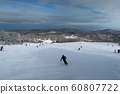 Woody course upper part of Sapporo international skiing area 60807722