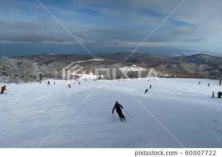 삿포로 국제 스키장 우디 코스 위 60807722