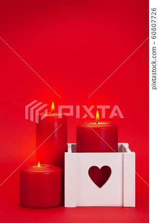 Valentines day greeting card 60807726