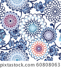 패턴 D_ 藍菊 02 60808063