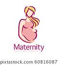 Maternity logo design template, pregnancy mother 60816087