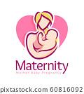 Maternity logo design template, pregnancy mother 60816092