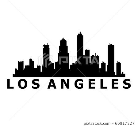 Los Angeles skyline 60817527
