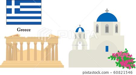 希臘旅遊勝地 60821546