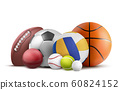 Balls for soccer, rugby, baseball and other sports 60824152