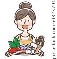 영양 관리 주부 요리 60825791
