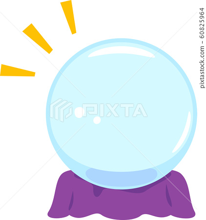 桌上的水晶球 60825964