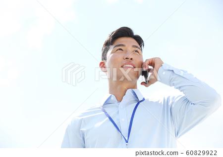 男性商務電話 60829922