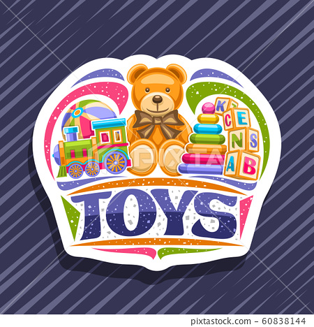 Vector logo for Kids Toys 60838144